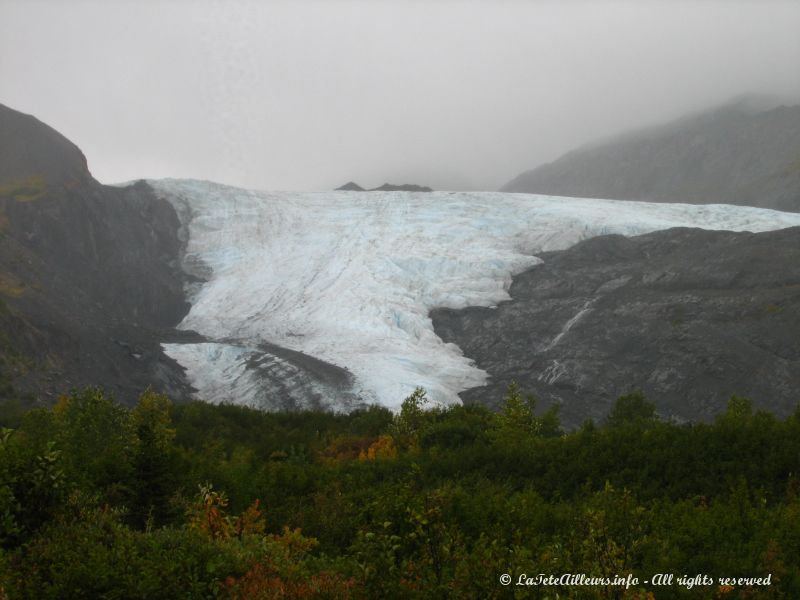 Le Worthington Glacier