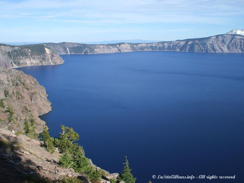 Crater Lake vu du Watchman Peak