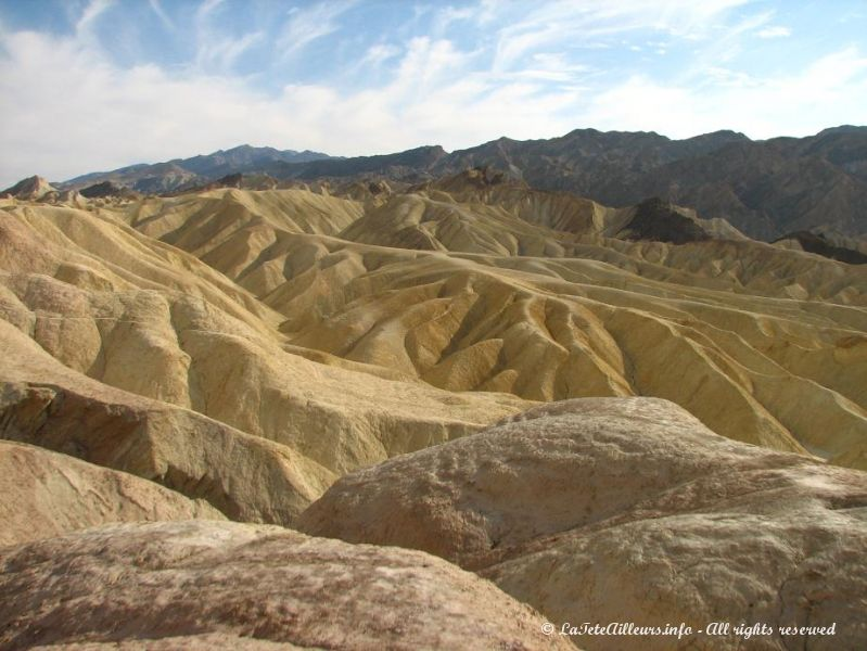 Impossible de ne pas retourner a Zabriskie Point...