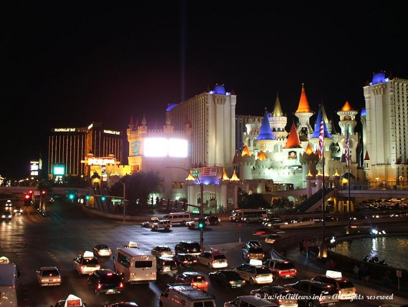 Le Strip de Las Vegas...