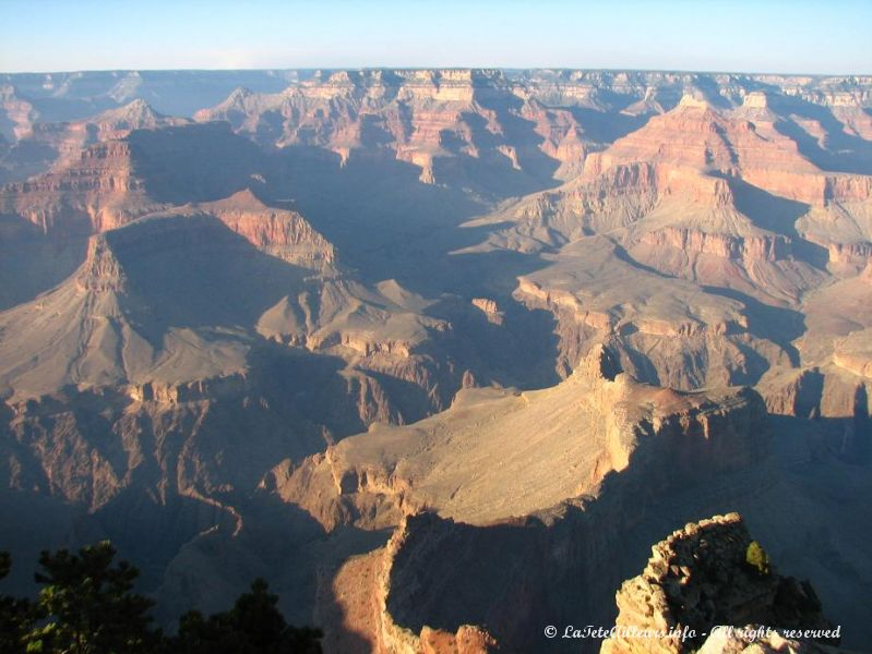 Le Grand Canyon, depuis Pima Point