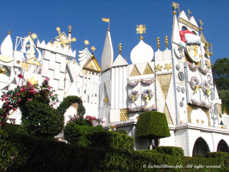Le chateau d'It's a Small World