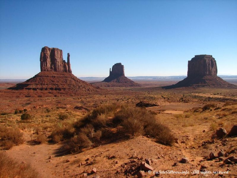 Les Mittens de Monument Valley