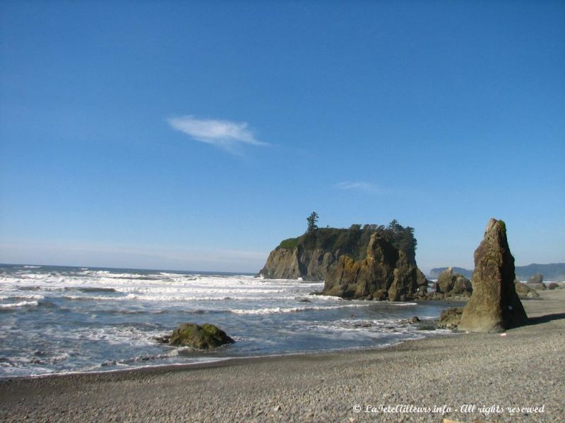 Ruby Beach fait partie du sanctuaire marin de l'Olympique National Park