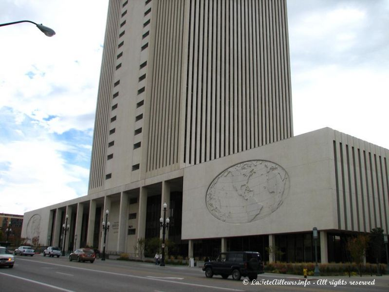 Le LDS Church Office and Administration Building,  le cerveau et le coeur du pouvoir des Mormons
