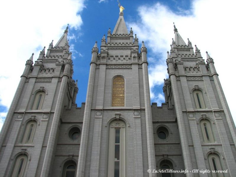 Le Salt Lake Temple, le plus sacre des temples mormons