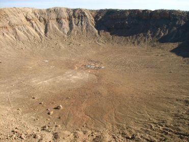 Le Meteor Crater