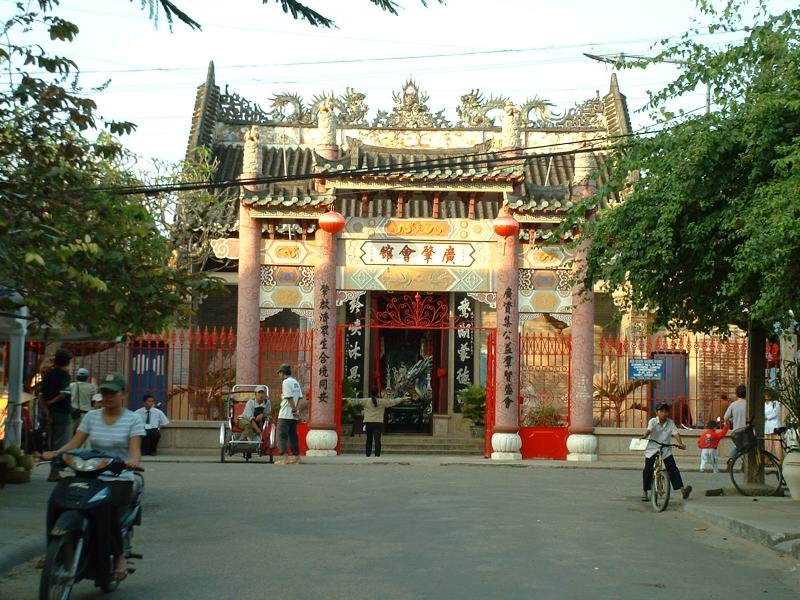 Une pagode d'influence chinoise